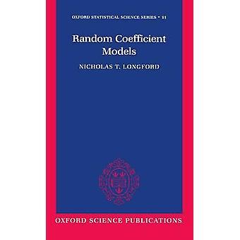 ニコラス ・隆・ ロングフォードでランダム係数モデル