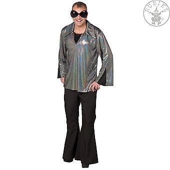 Glitter shirt MICA shirt disco hemd danseres kostuum voor mannen
