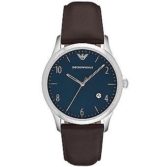 Orologio al quarzo da uomo Emporio Armani Ar1944 Blue Dial