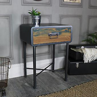 Retro Bed Side Table / Industrial  � Chicago Range