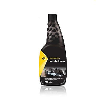 Wash and Wax Car Shampoo 750ml AA Car Essentials