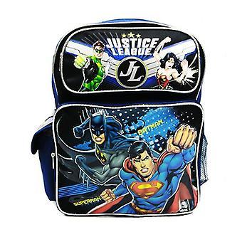Medium Backpack - DC Comic - Justice League Batman Superman New a00025
