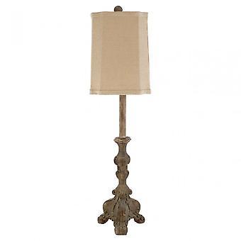 Premier Home Pippa tafel lamp, polyresin, bruin