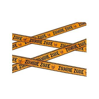 Smiffy's Zombie Zone Caution Tape
