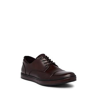 Kenneth Cole New York Mens Design 102572 Derby Fabric Lace Up Casual Oxfords
