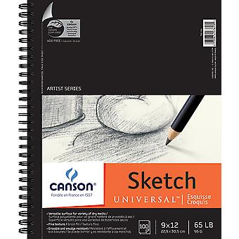 Canson Universal Sketch Book 9