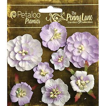 Penny Lane Mixed Blossoms 8 Pkg Soft Lavender P1836 057