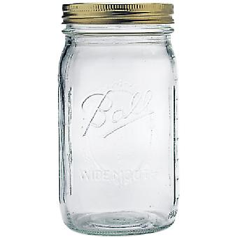 Ball Mason Jar Wide Mouth Quart 67000