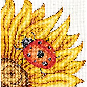 The Ladybird Counted Cross Stitch Kit-8
