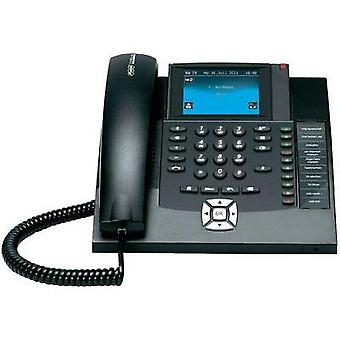PBX ISDN Auerswald COMfortel 1400 Hands-free, Touchscreen Touch colour display Black