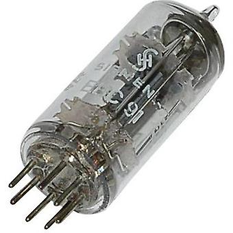 Tube EBC 91 = 6 AV 6, Dual diode-triode, Base, 7 Pin