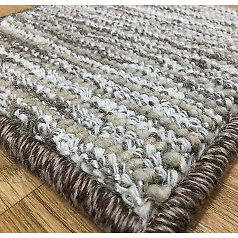 Rugs - Bespoke Wool Silk Loop - Beige/Brown