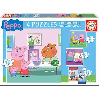 Educa Puzzle Peppa Pig Multi (Kids , Toys , Table games , Puzzles)