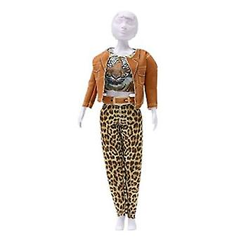 Dress Your Doll Kitty Tiger (Toys , Educative And Creative , Design And Mode , Mode)