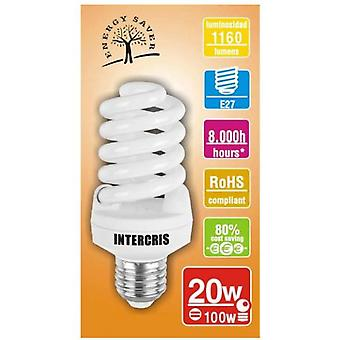 Intercris 8000h saving bulb 20w 038 (Home , Lighting , Light bulbs and pipes)