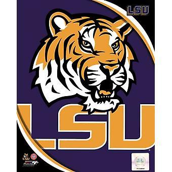 جامعة ولاية لويزيانا النمور فريق شعار الرياضة صور (8 × 10)