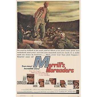 Merrills predoni Movie Poster (11x17)