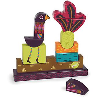 Oops Imagine Peacock Wooden Puzzle Toys (Toys , Preschool , Puzzles And Blocs)
