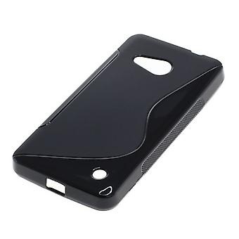 OTB TPU CASE COMPATIBLE WITH MICROSOFT LUMIA 550 S-CURVE BLACK
