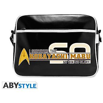 Abysse Star Trek Messenger Bag Kobayashi Maru Vinyle (Toys , School Zone , Backpacks)