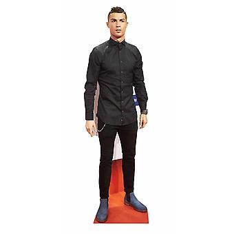 Cristiano Ronaldo Lifesize papp åpning / Standee / stå opp