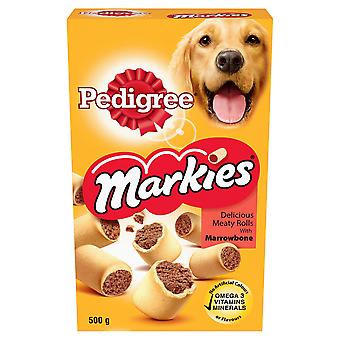 Pedigree C & t Markies Original 500g (paquete de 12)