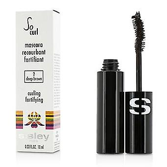 Sisley also Curl Mascara Eisstockschießen & stärkend - #02 dunkelbraun - 10ml / 0,33 oz