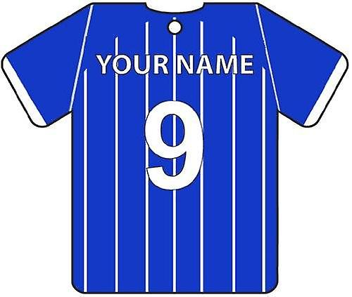 Personalised Gillingham Football Shirt Car Air Freshener