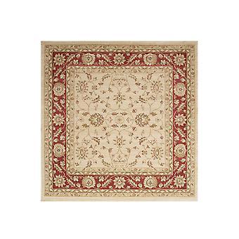 Fløde & Red Square traditionelle tæppe Ziegler