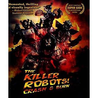 Killer robotter [Blu-ray] USA importerer