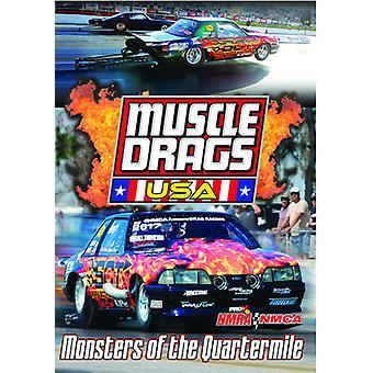 Muskel trækker Usa: Monstre af Quartermile [DVD] USA importerer