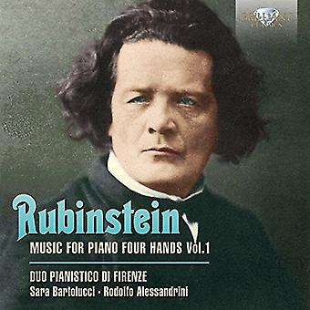 Duo Pianistico Di Firenze - Rubinstein: Music for Piano 4 Hands [CD] USA import