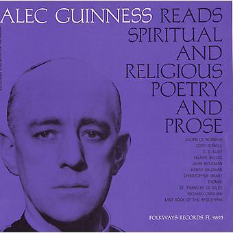 Alec Guinness - Christian Poetry & Prose: Selected & Read by Alec [CD] USA import