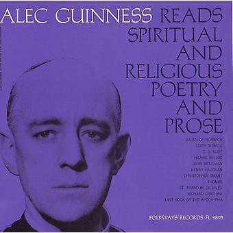 Alec Guinness - Christian Poetry & Prosa: Ausgewählte & Lesen von Alec [CD] USA import
