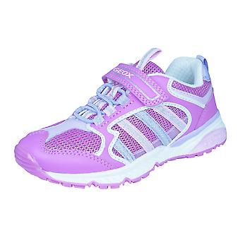 Geox J Bernie G.A Girls Trainers / Shoes - Pink