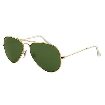 Ray-Ban Aviator grote metalen Mens zonnebril RB3025-001/58-62