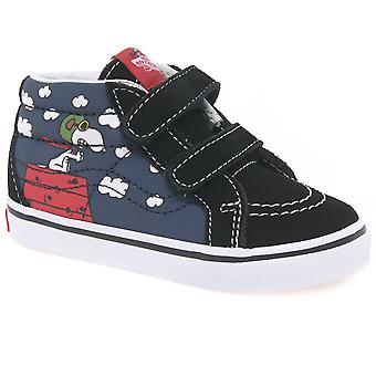 Vans Erdnüsse Flying Ace Hallo Top Kinder Canvas Schuhe