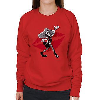 Rocky Horror Picture Show Magenta Women's Sweatshirt