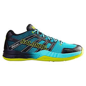 Salming men's hand ball shoe race X turquoise - 1237010-6363