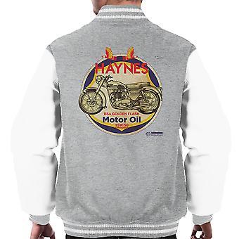 Haynes Brand Richfield BSA Motor Oil Men's Varsity Jacket