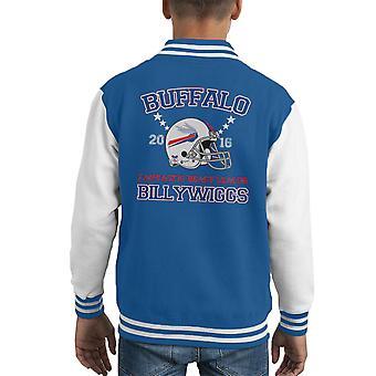Chaqueta Varsity de Buffalo Billywiggs casco infantil de la Liga de animales fantásticos