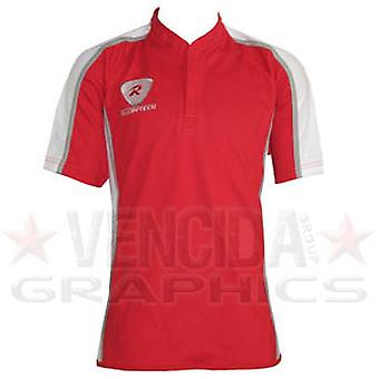 RUGBYTECH teamwear rugby match shirt [red/white]
