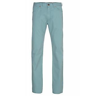 Wrangler jeans Greensboro men's trousers turquoise
