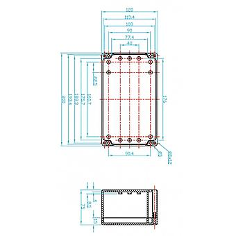 Fixapart lift 200 x 75 x ABS 120 mm