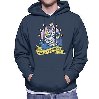 Super Smash Brothers Meta Knight Victory Is My Destiny Men's Hooded Sweatshirt
