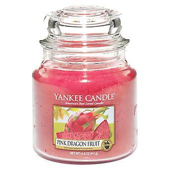 Yankee Candle Classic Medium Jar Pink Dragon Fruit Candle 411g