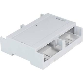 DIN rail casing Cover (gray) 106.2 x 100 x 31.9 Polycarbonate (PC)
