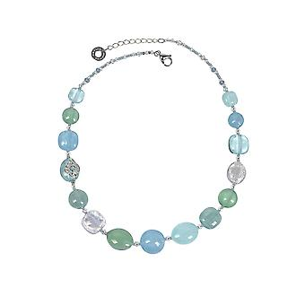 Antica Murrina ladies COA22A39 light blue steel Hall chain