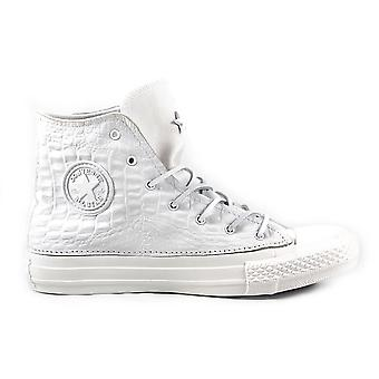 Converse women's 1C15SP36 White Leather Hi Top sneakers