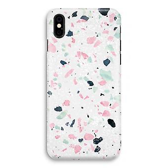 iPhone X Full Print Case - Terrazzo N°3